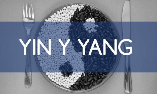 Yin y Yang: descúbrelo en tu  alimentación