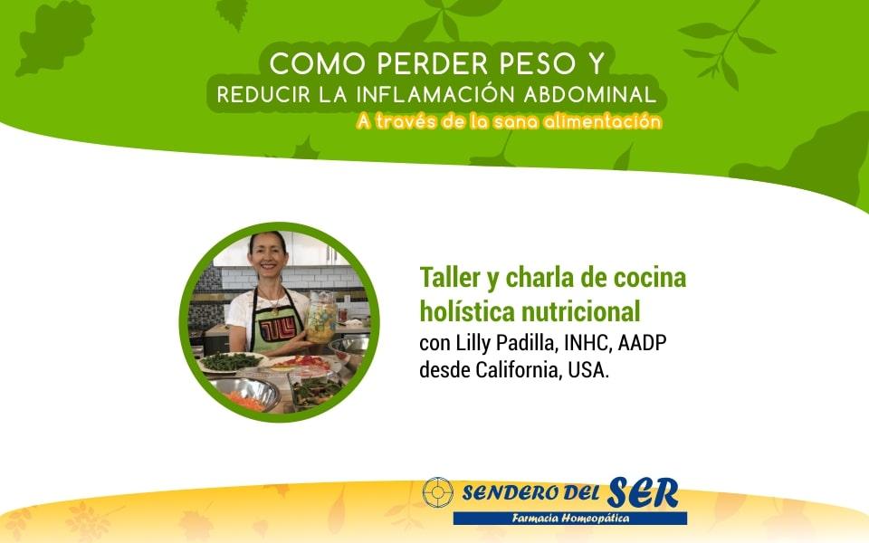 Taller y charla de cocina holística nutricional