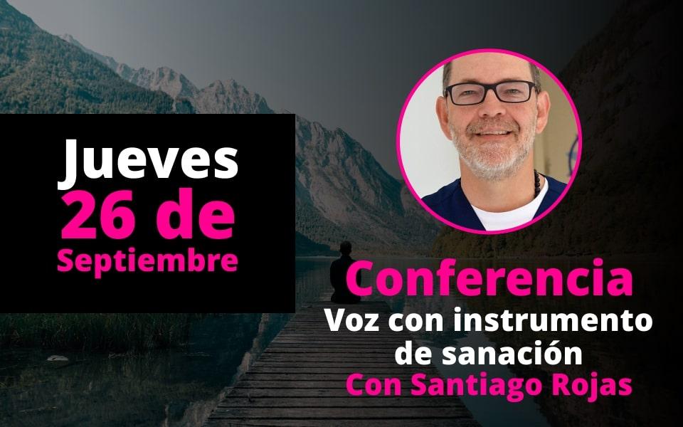 Conferencia Voz como instrumento de sanación