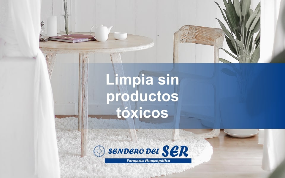 Limpieza sin productos tóxicos