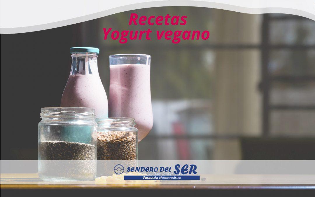 Recetas Yogur vegano
