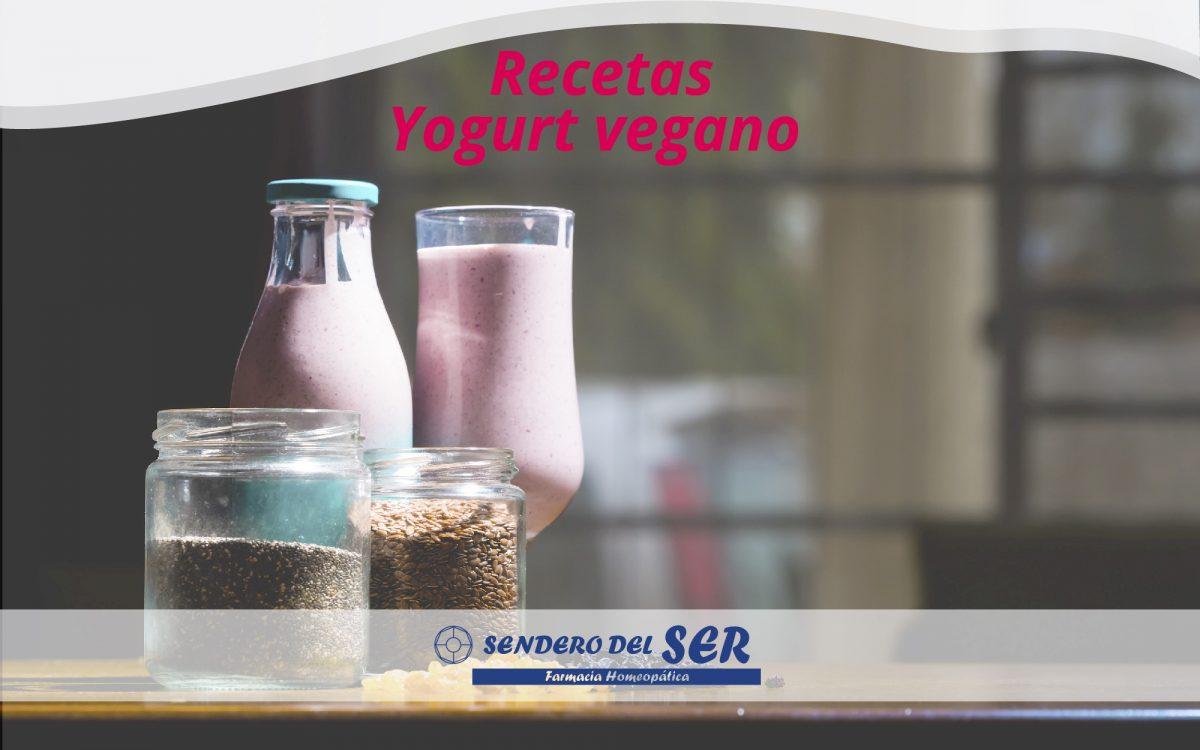 Receta yogurt vegano