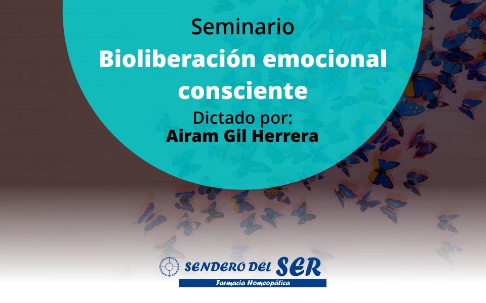 Seminario bioliberación emocional consciente