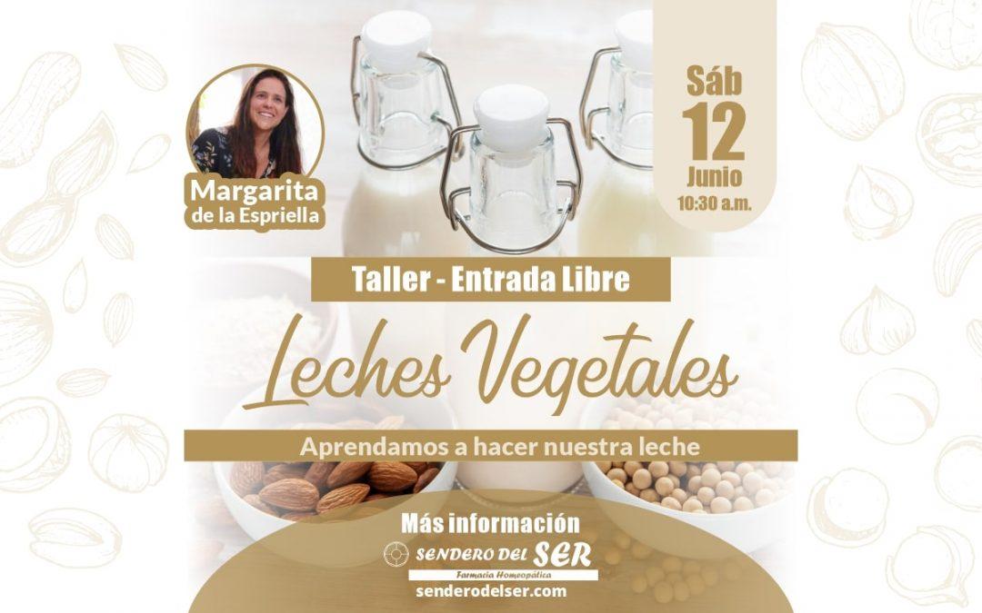 Taller – Leches Vegetales