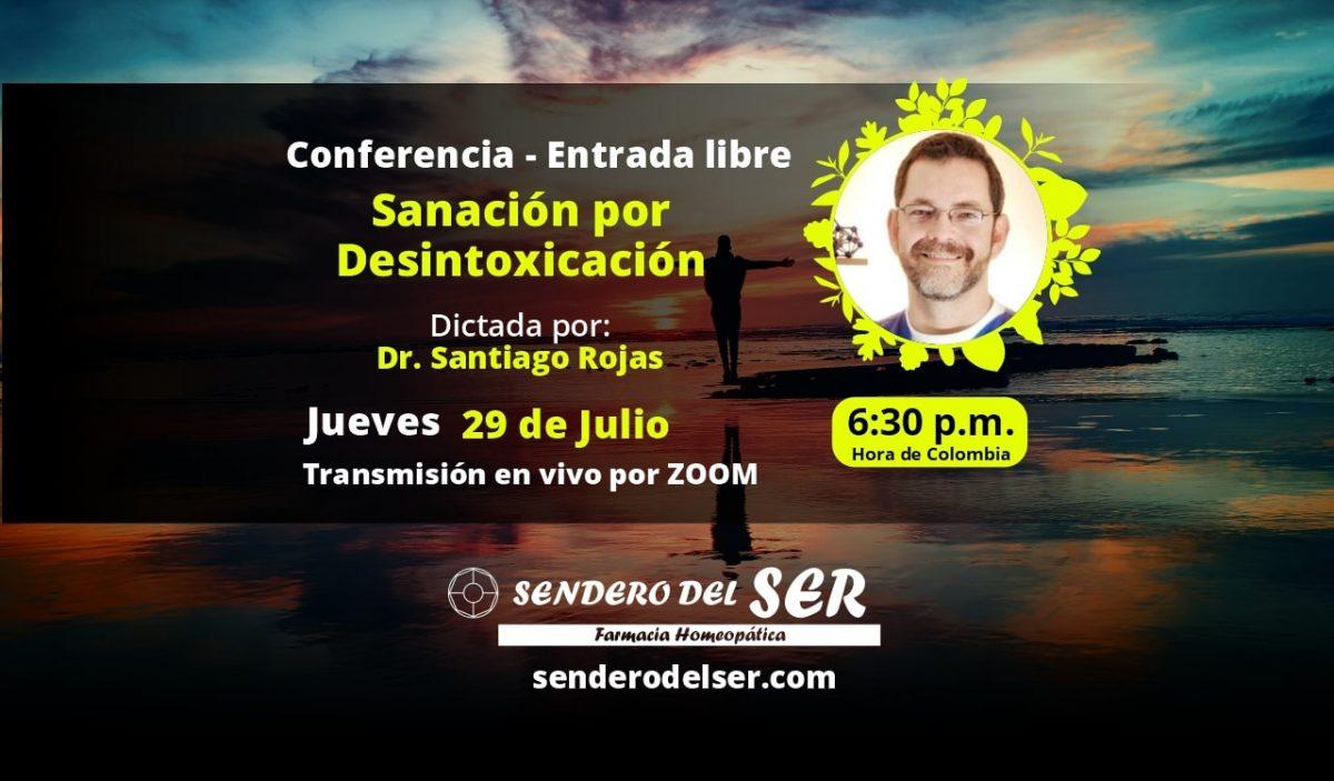 Conferencia Sanación por Desintoxicación